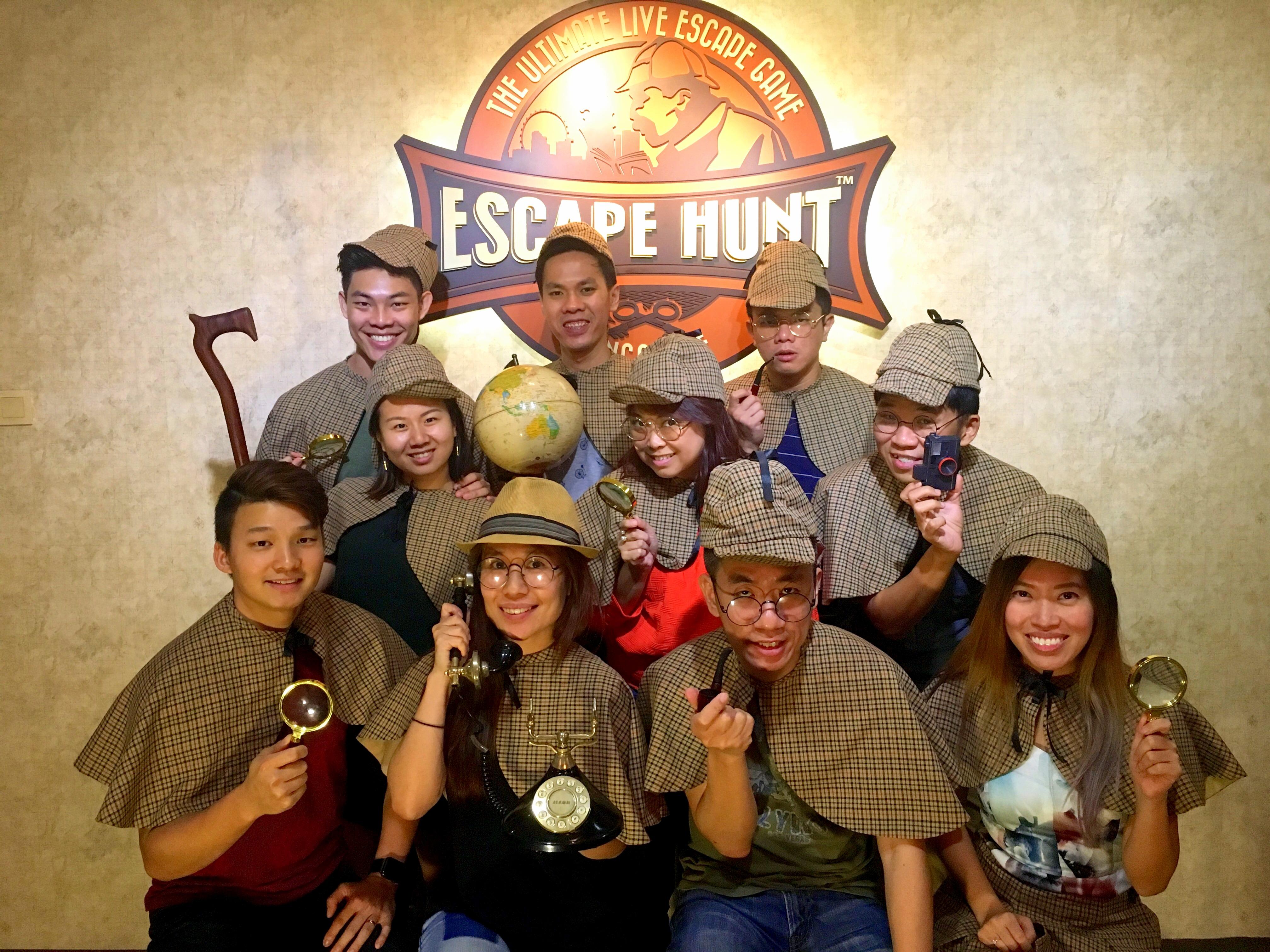 Escape Room Games - Escape Hunt Singapore