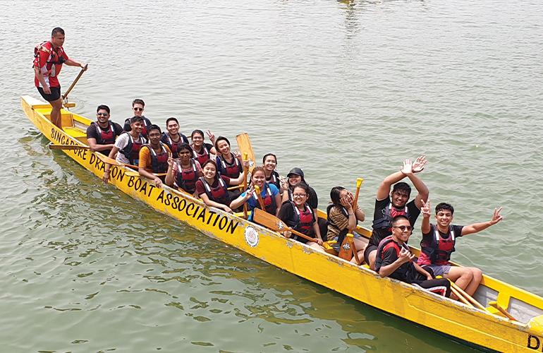 Dragon Boating Singapore – Escape Hunt Singapore